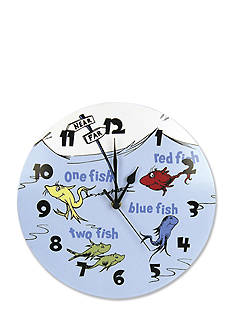 Trend Lab Dr. Seuss™ One Fish, Two Fish Wall Clock