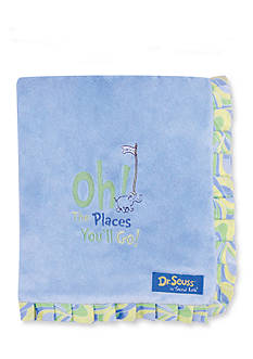 Trend Lab Dr. Seuss™ Oh, The Places You'll Go! Blue Receiving Blanket