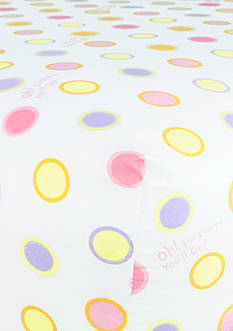 Trend Lab Dr. Seuss™ Oh, The Places You'll Go Pink Fitted Crib Sheet