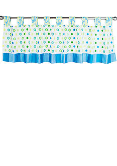 Trend Lab Dr. Seuss™ Oh, The Places You'll Go! Blue Window Valance