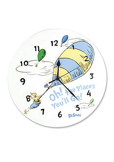 Trend Lab Dr. Seuss™ Oh, The Places You'll Go! Blue Wall Clock