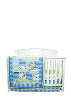 Trend Lab Dr. Seuss™ Oh, The Places You'll Go! Blue 3-Piece Crib Bedding Set
