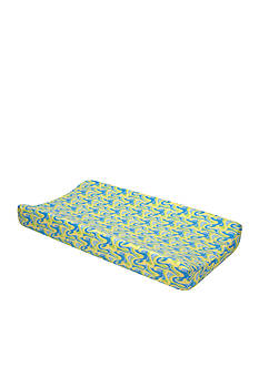 Trend Lab Dr. Seuss Oh, The Places You'll Go! Blue Changing Pad Cover