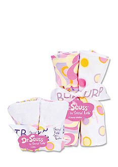 Trend Lab Dr. Seuss™ Oh, The Places You'll Go Pink 4-Pack Bib and 4-Pack Burp Cloth Set