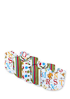 Trend Lab Dr. Seuss ABC 5 Pack Bib Set