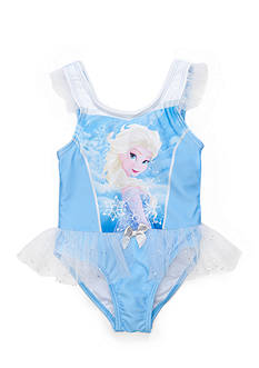Disney Frozen Ruffle Tutu Swimsuit Toddler Girls