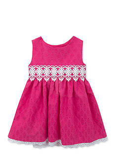Rare Editions Clip Dot Dress Toddler Girls