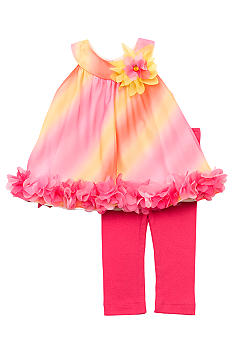 Rare Editions Ombre Chiffon Set Toddler Girl