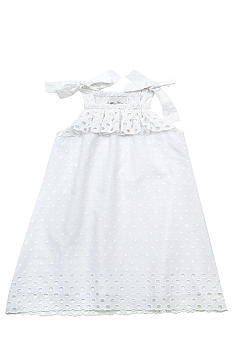 Rare Editions Eyelet Dress Toddler Girls
