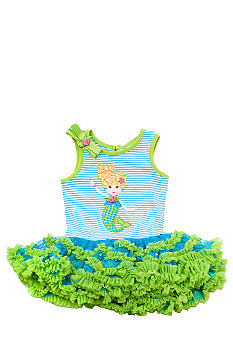 Rare Editions Mermaid Tutu Dress Toddler Girls