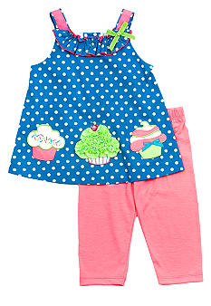 Rare Editions Dot Cupcake Set Toddler Girls