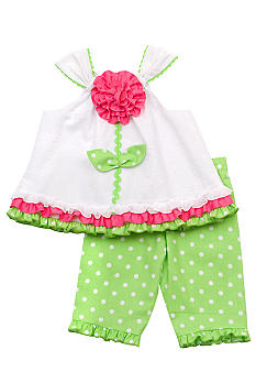Rare Editions Flower Dot Capri Set