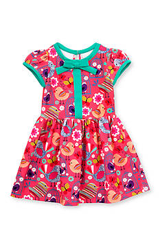 Rare Editions Birdcage Knit Dress Toddler Girls
