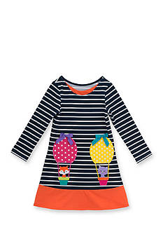Rare Editions Knit Balloon Dress Toddler Girl