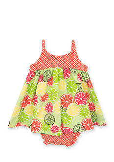 Counting Daisies by Rare Editions Fruit Slice Dress Toddler Girls