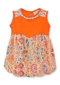 Rare Editions Paisley Romper Toddler Girls