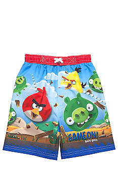 Angry Birds Monster Swim Trunk Toddler Boys