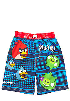 Angry Birds Swim Trunk Toddler Boys