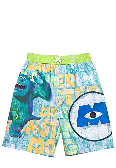 Disney Pixar Monsters, Inc. Swim Trunk Toddler Boys