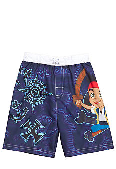 Disney Jake and the Never Land Pirates Swim Trunk Toddler Boys
