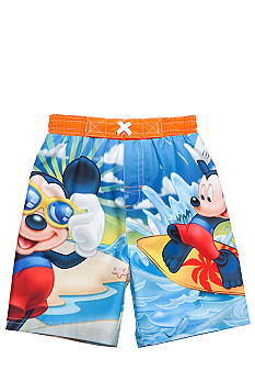 Disney Mickey Mouse Swim Trunk Toddler Boys