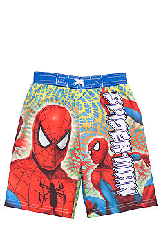 Marvel Spiderman Swim Trunk Toddler Boys