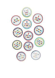 Mud Pie Growing Milestone Stickers
