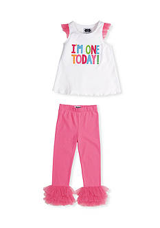 Mud Pie 2-Piece I'm One Tunic and Legging Set