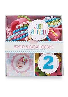 Mud Pie Interchangeable Milestone Headband