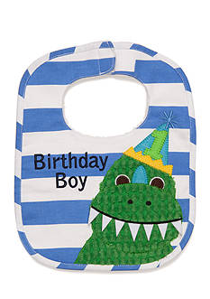 Mud Pie Birthday Dino Bib