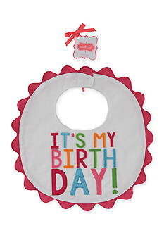 Mud Pie It's My Birthday Bib