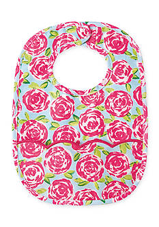 Mud Pie Floral Laminated Bib