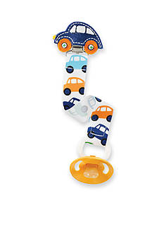 Mud Pie Multi Pattern Car Pacifier Clip