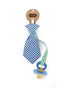 Mud Pie Necktie Pacifier Clip