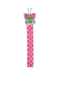Mud Pie Floral Butterfly Pacifier Clip