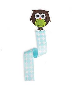 Mud Pie Owl Pacifier Clip