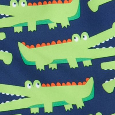 Toddler Boy Swimwear: Navy Gator J Khaki™ Swim Trunks Toddler Boys