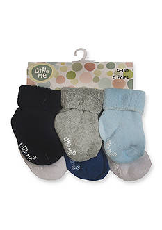 Little Me 6-Pack Solid Sock Set