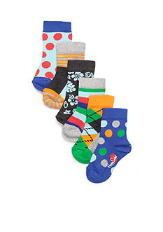 Happy Socks 6-Pack Multi-Print Socks Box Set