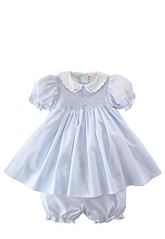 Petit Ami Dress with Diaper Cover - Newborn