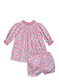 Petit Ami Floral Patterned Long Sleeve Dress