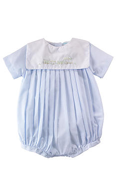 Pleated Bubble Romper - Newborn