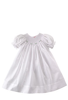 Petit Ami Smocked Day Gown - Newborn