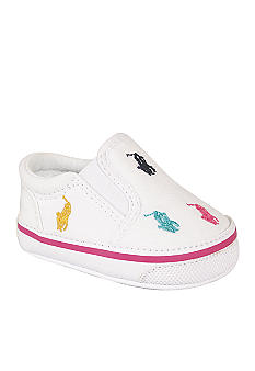 Ralph Lauren Childrenswear Bal Harbour Repeat White Shoes - Online Only