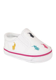 Ralph Lauren Childrenswear Bal Harbour Repeat White Shoes