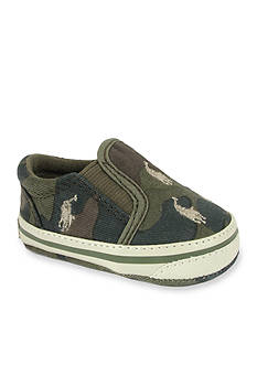 Ralph Lauren Childrenswear Army Camouflage Bal Harbour Shoes
