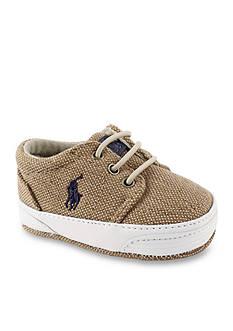 Ralph Lauren Childrenswear Khaki Chambray Faxon Sneaker