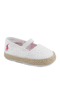 Ralph Lauren Childrenswear Bowman Eyelet Skimmer Shoe