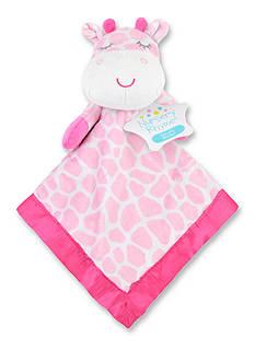 Nursery Rhyme Giraffe Security Blanket