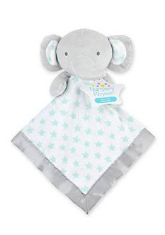 Nursery Rhyme Grey Elephant Security Blanket
